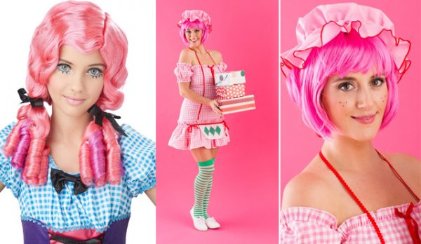 Pink Doll Costumes