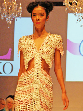 Cashmere Couture Collection Dress by Luco Marion