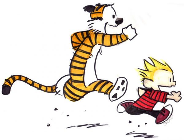 Veronica Roth Calvin and Hobbs