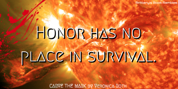 Honor has no place in survival