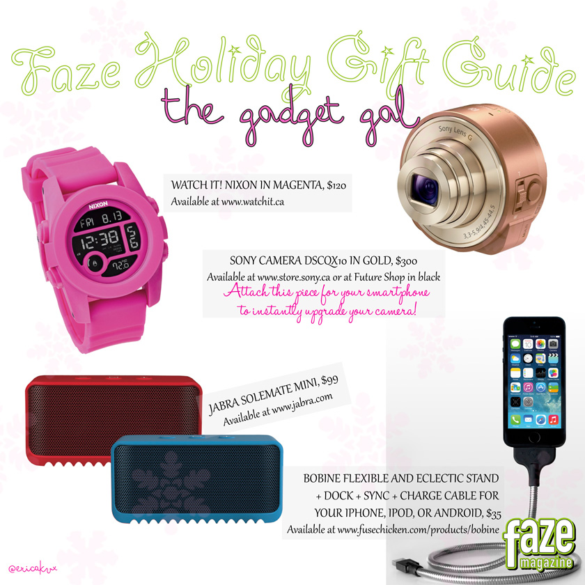 Holiday Gift Guide Gadget Girl Gifts