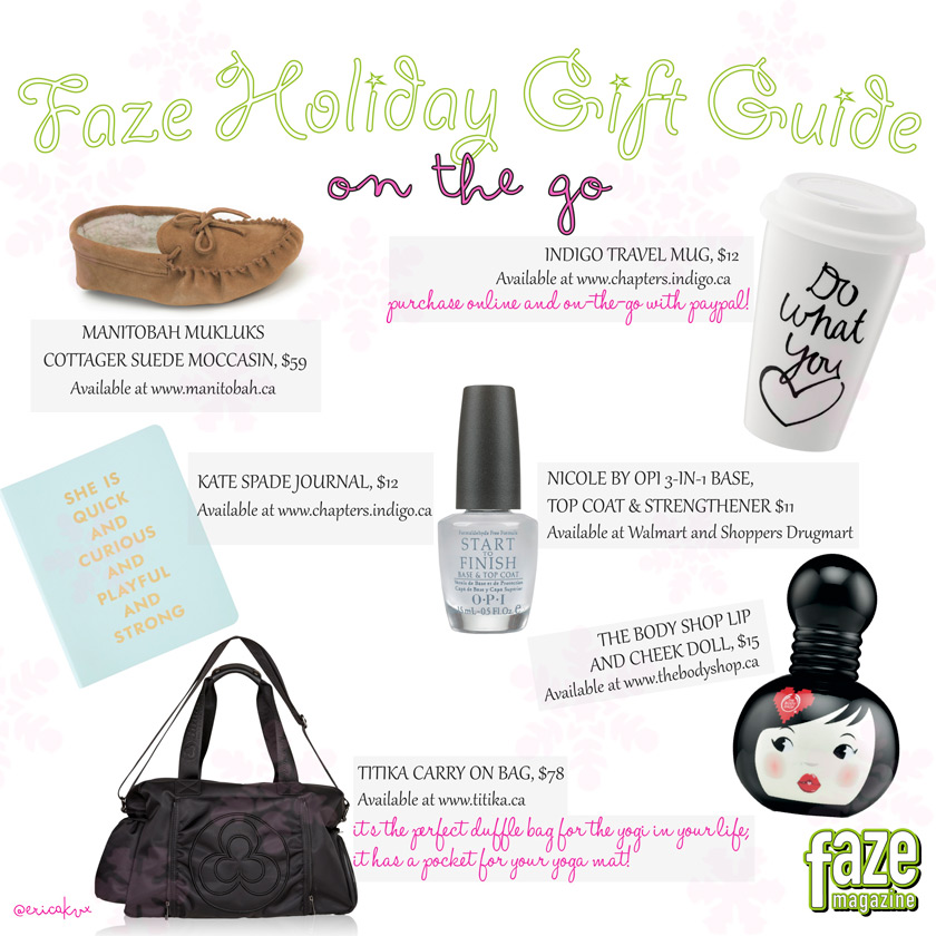 Holiday Gift Guide Girl On The Go Gifts