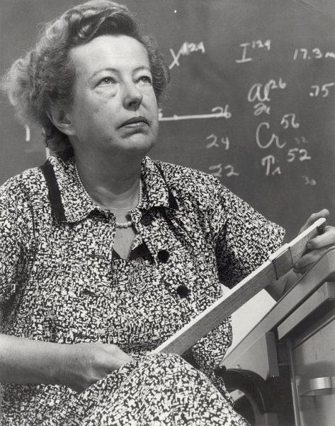 Photo of Marie Goeppert-Mayer