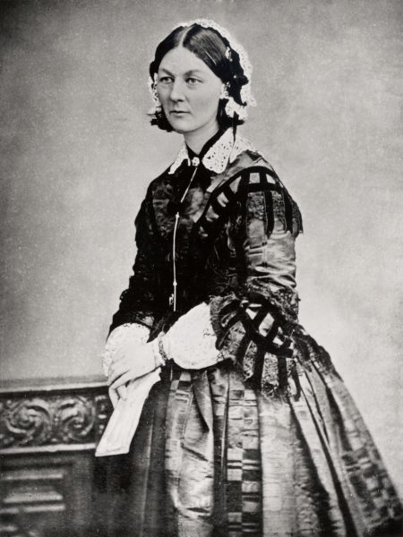 Photo Portrait of Florence Nightingale