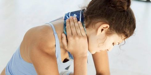 sore neck injury