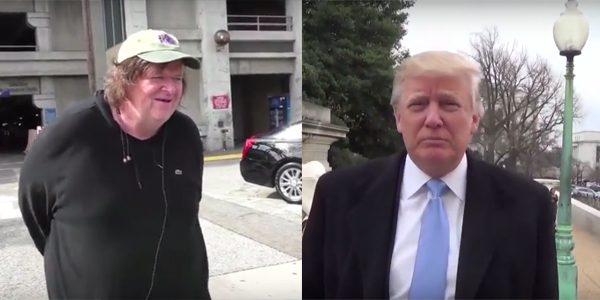 Michael Moore Donald Trump