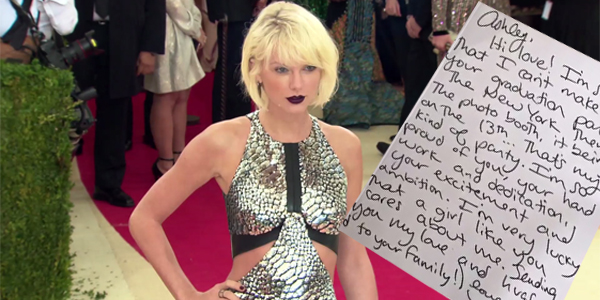 Taylor Swift Surprises College Grad