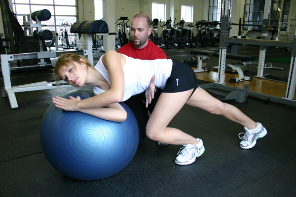 Swiss Ball Core Training