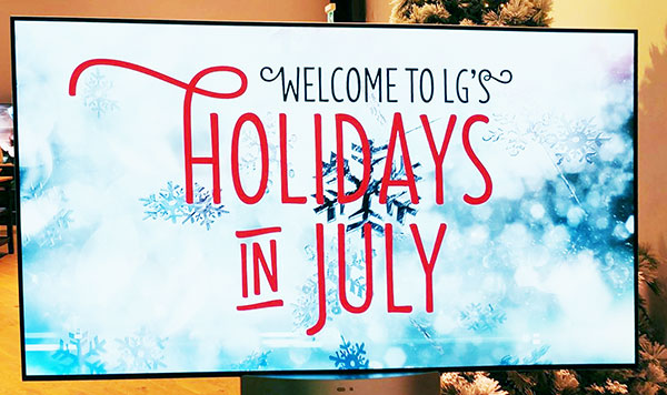 LG Canada Holidays in July