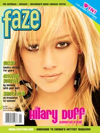 Hilary Duff Faze issue 15 cover