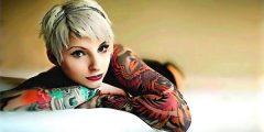 beautiful tattoo girl