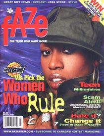 Missy Elliot Faze Cover
