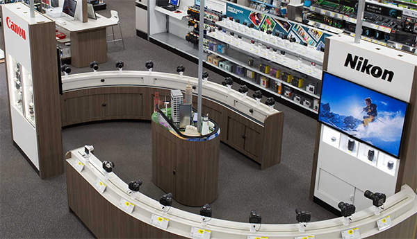 best-buy-camera-section