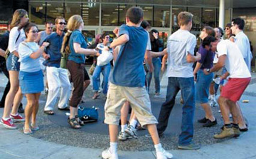 Flash Mob in Vancouver