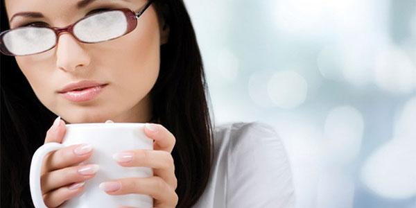 Coffee Fog Glasses Orthokeratology