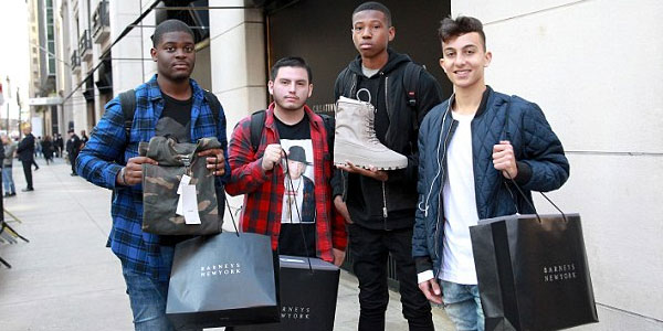 Guys Shopping Kanye West Celebrity Designers