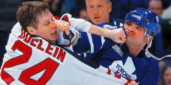 Tie Domi Hockey Fight