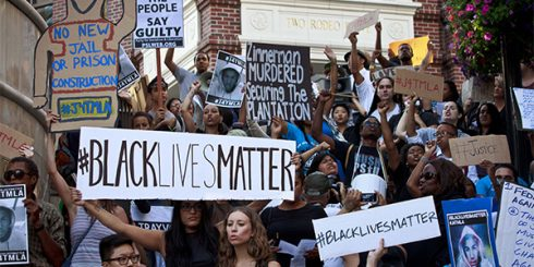 White Girl - Black Lives Matter