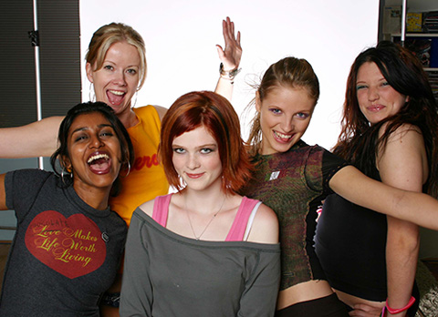 Faze Girls: Surya Bhattacharya, Jayne Rae, Holly Dodson, Ashley Ebner, Berkley Miller