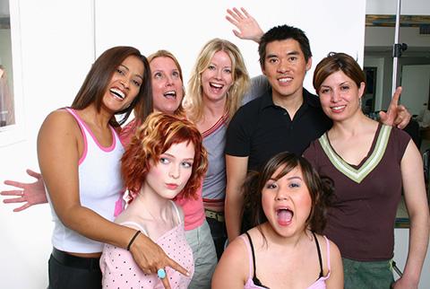 Faze Photo Shoot Team, Jayne Rae, Holly, Stephanie, Melissa, Daniel Fung, Fariba