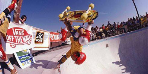 Steve Caballero Skateboarding Royalty Vans
