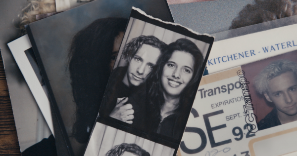 Old photos of Steve and Attiya when they were together.