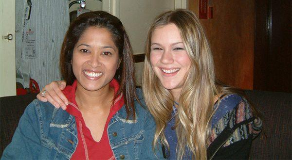 Singer Joss Stone and Faze founder Lorraine Zander