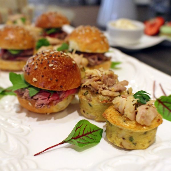 Omni King Edward Hotel Royal Wedding Tea Menu - Sirloin Sandwich