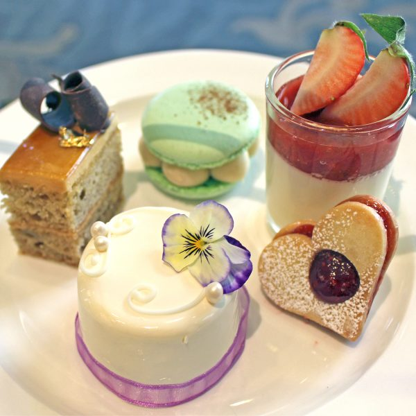 Omni King Edward Hotel Royal Wedding Tea Menu - Elderberry Royal Wedding Cake
