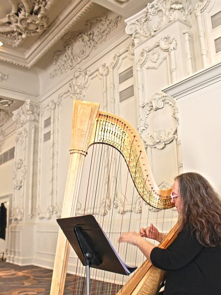 Omni King Edward Hotel Brunch Harp