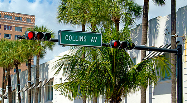 Collins Avenue in Miami