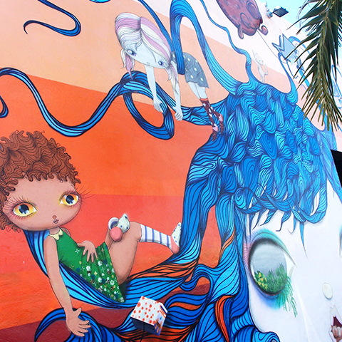 MIAMI - Wynwood Murals Art