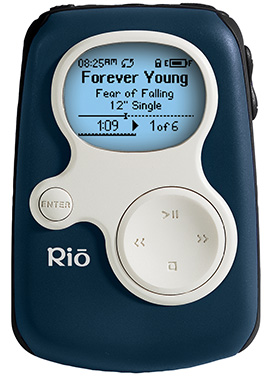 SonicBlue Rio MP3 players