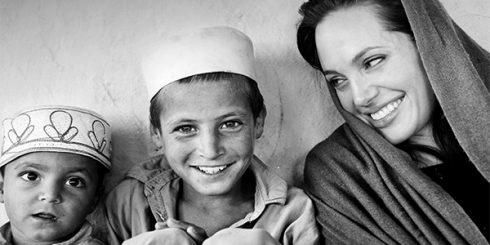 Angelina Jolie - Celebrities Who Care