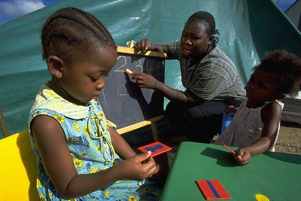 HIV/AIDS Children Botswana UNICEF