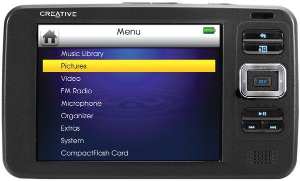 Converging Technology - Creative Labs Zen Vision Portable Media Player