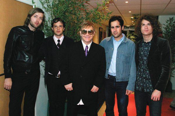 The Killers in Las Vegas with Elton John
