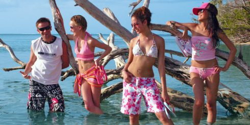 Tobago: Faze Caribbean Beachwear Photo Shoot - Pigeon Point