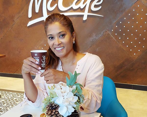 McDonald's McCafé Lorraine Zander