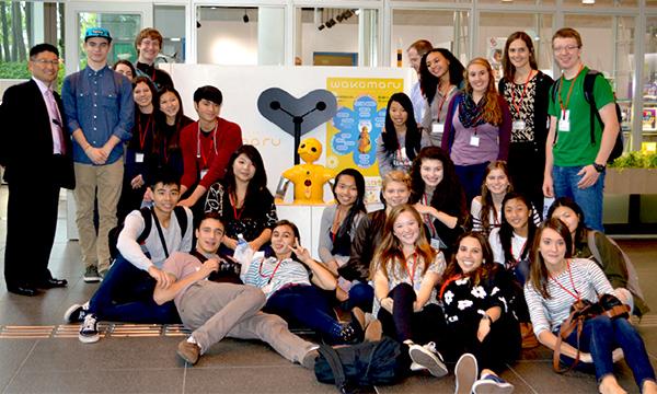 Riverdale students - Trip to Japan