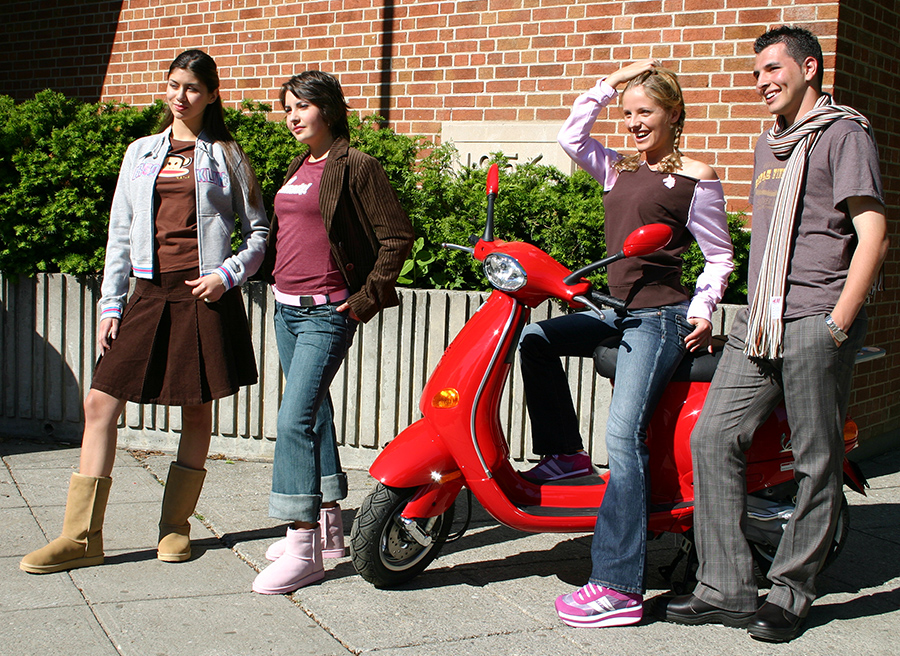 back-to-school looks - Vespa