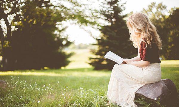 Girl Reading Books Summer - Summertime Books