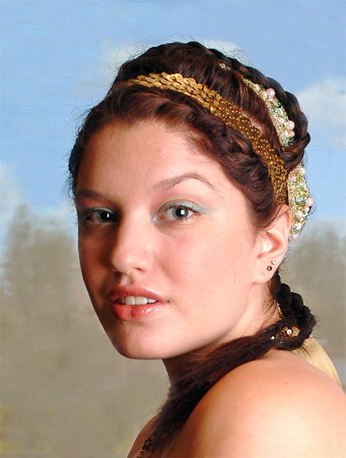 Glamourous Makeup - Berkley Miller