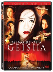 Media Room - Memoirs of a Geisha