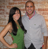 Danny Fernandes and Dana Krook