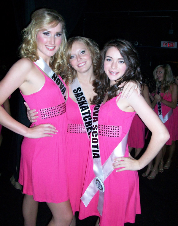 Miss teen canada contestants