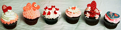 Valentine Cupcakes by Cupcake Couture