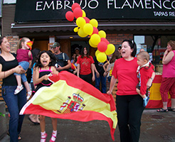 World Cup Final at Embrujo Flamenco