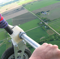 Up in the Air: Hanggliding at 2500 feet altitude
