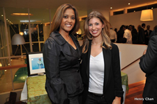 Justine Shoolman and Lorraine at Hope House event